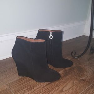 Sam Edelman Wedge Booties (NEVER WORN OUTSIDE)
